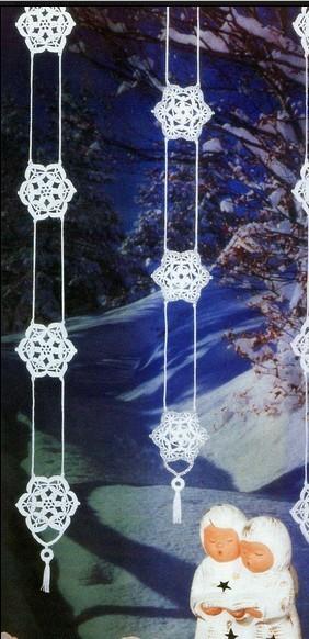 Addobbo natalizio per finestra punti e spunti - Addobbi natalizi per le finestre ...