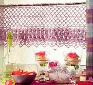 cortina com barrado de argolas linda fotojpg tendine alluncinetto
