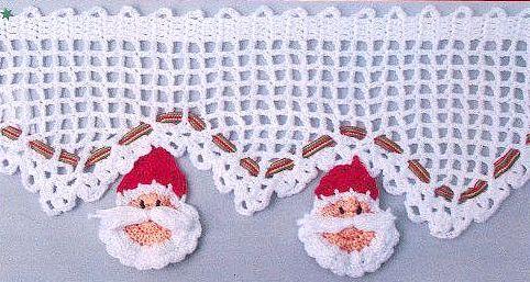 Bordo Alluncinetto Con Babbi Natale Punti E Spunti