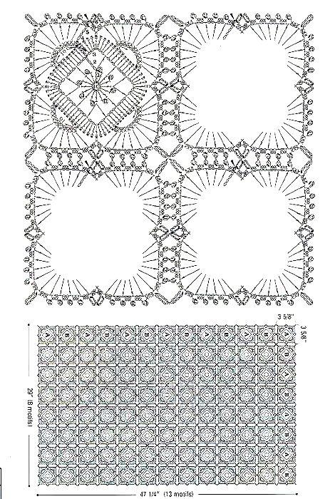 Preferenza Copertina azzurra all'uncinetto crochet | Punti e Spunti … KM69