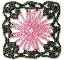 rosellina rosa e verde all'uncinetto.jpg