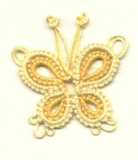 farfallina gialla a chiacchierino