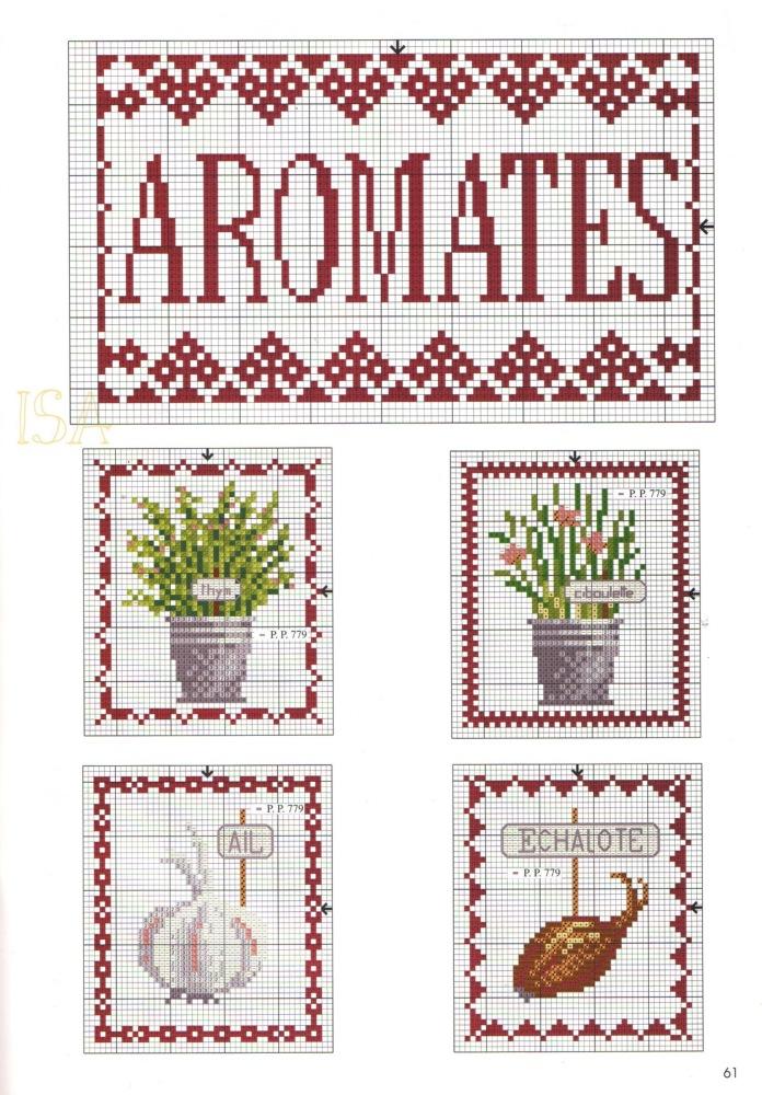 aromatiche a punto croce