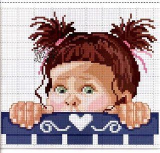 schema bebè a punto croce (2)