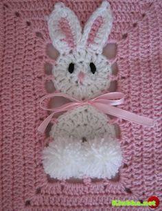 animaletti per copertine neonato-orsetto e coniglietto (2)