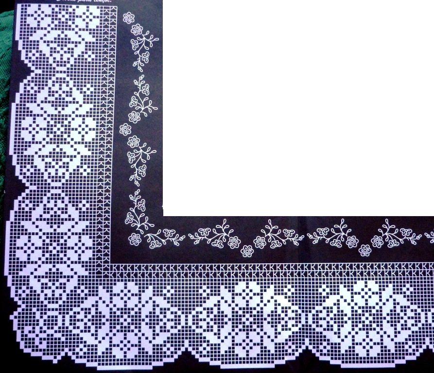Bordure Per Asciugamani A Uncinetto