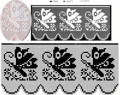 bellissimo bordo all'uncinetto crochet per tovaglie lenzuola asciugamani biancheria da cucina (8)