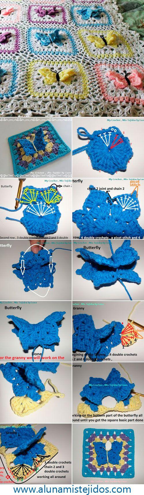 schemi copertine neonato uncinetto culla o carrozzina (4)
