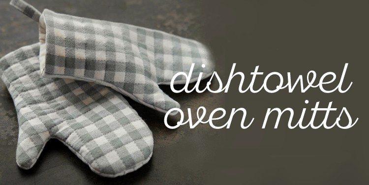 guanti da forno fai da te