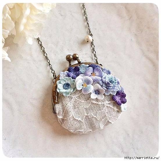 fiori per gioielli a uncinetto crochet (1)