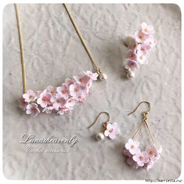 fiori per gioielli a uncinetto crochet (10)