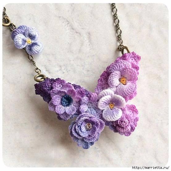 fiori per gioielli a uncinetto crochet (11)