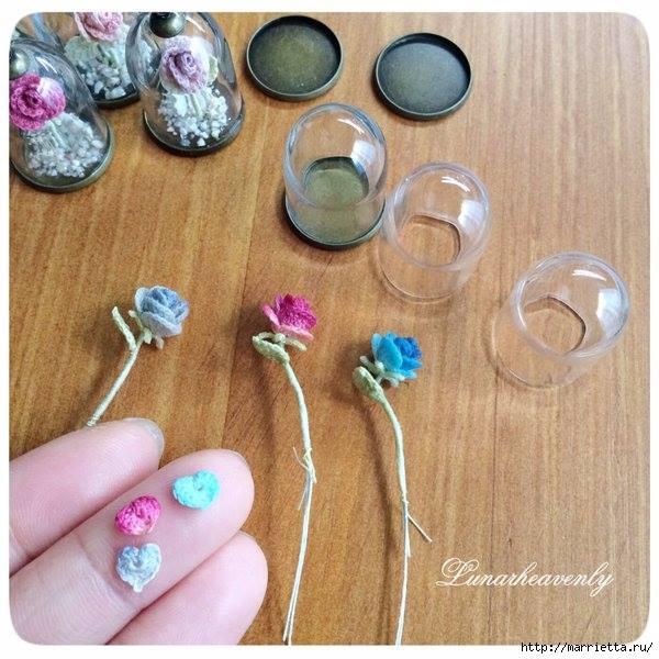 fiori per gioielli a uncinetto crochet (7)