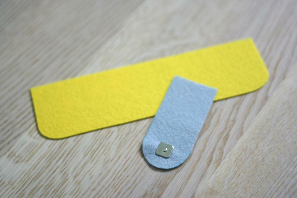 come realizzare un portafoglio in feltro- spiegazioni (10)