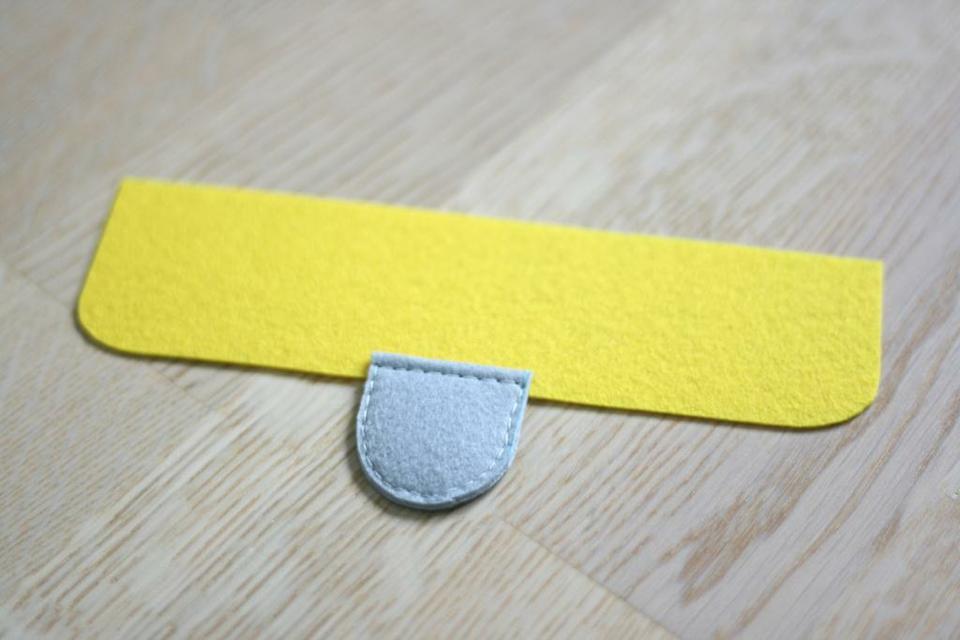 come realizzare un portafoglio in feltro- spiegazioni (8)