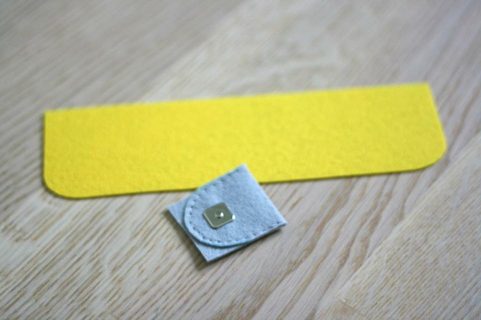 come realizzare un portafoglio in feltro- spiegazioni (9)
