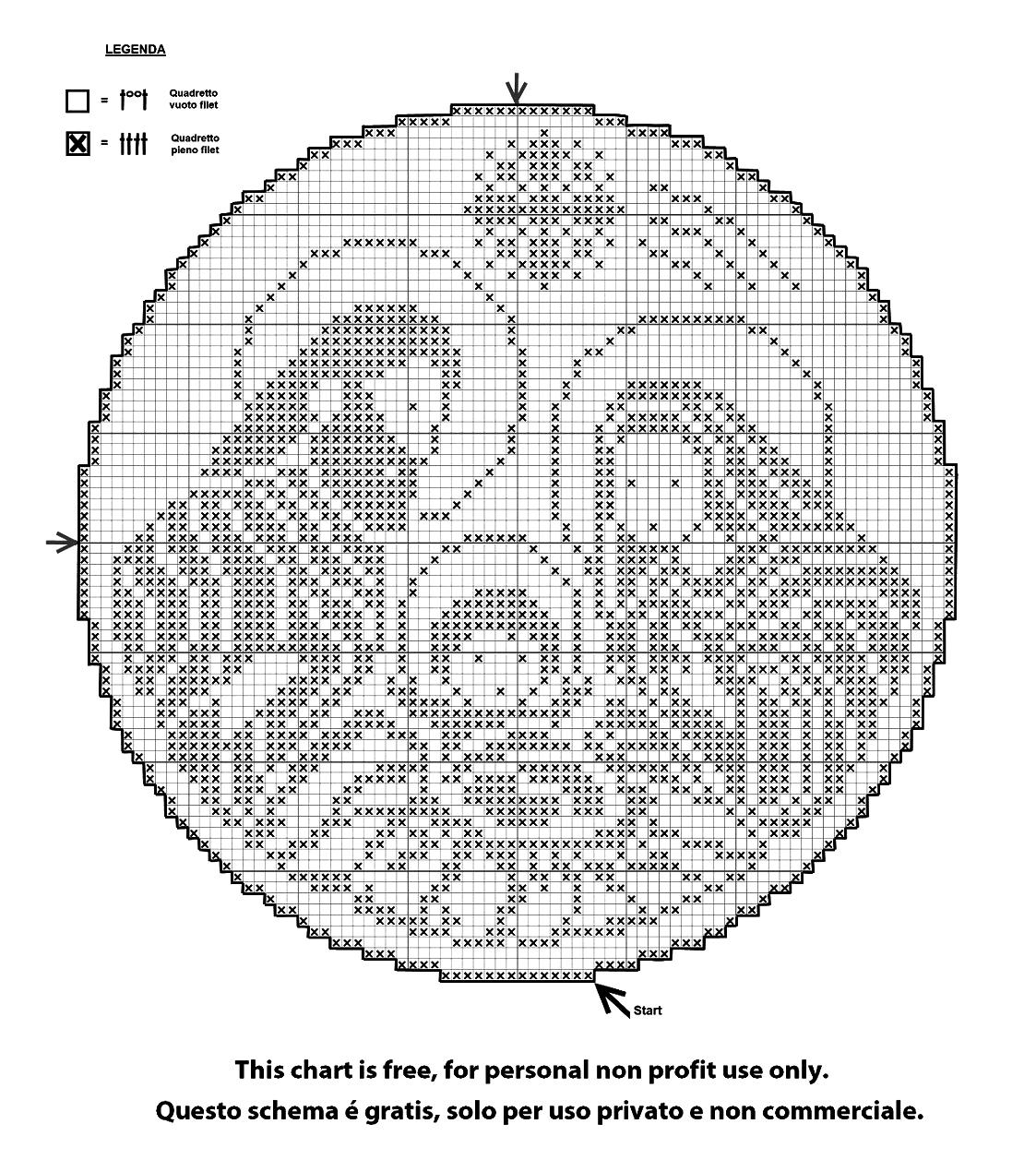 presepe a crochet