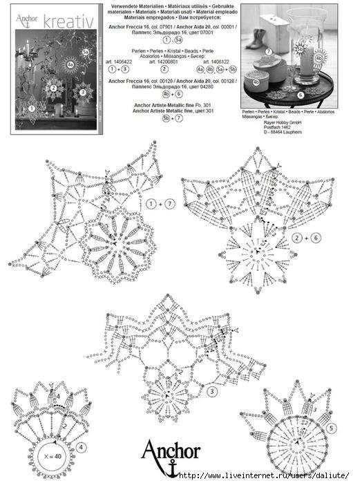 stelline, angioletti e fiocchi di neve alluncinetto crochet (2)