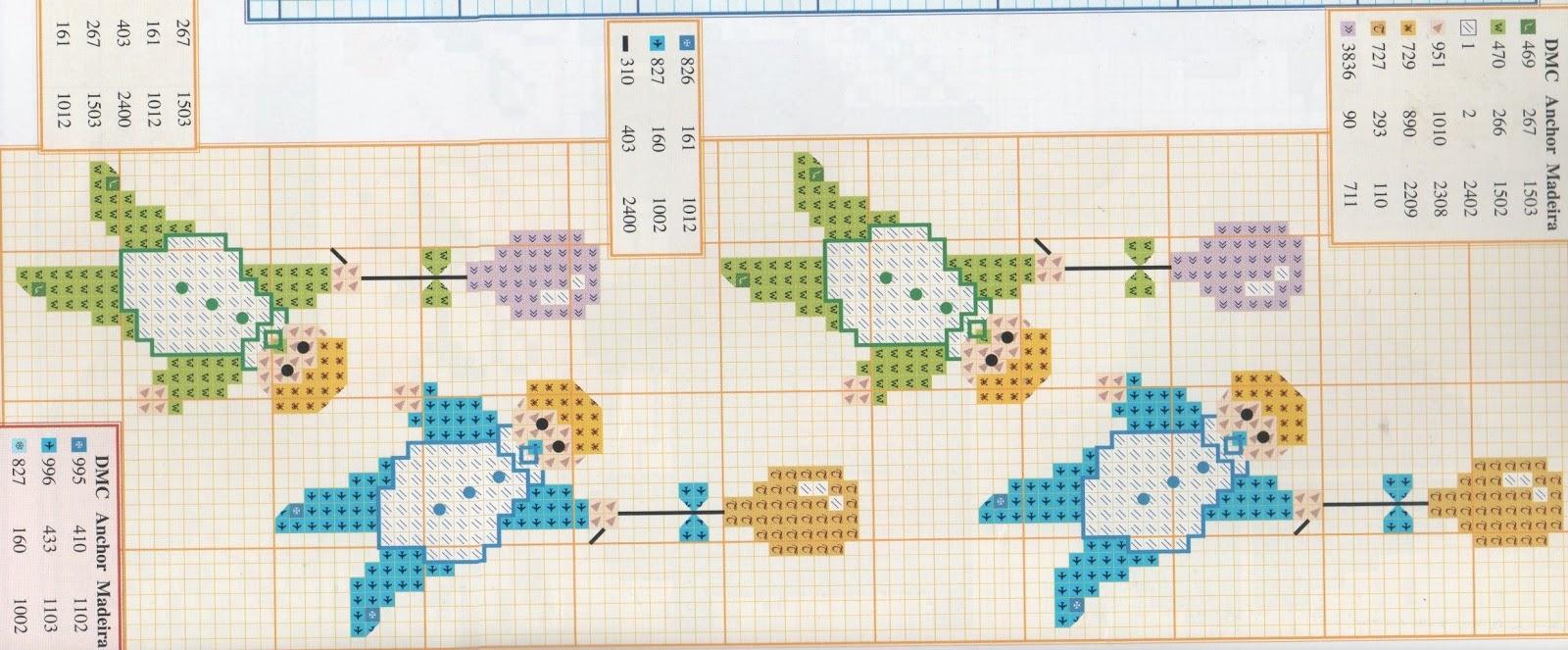 bordi a punto croce con giori-cenefas flores (28)