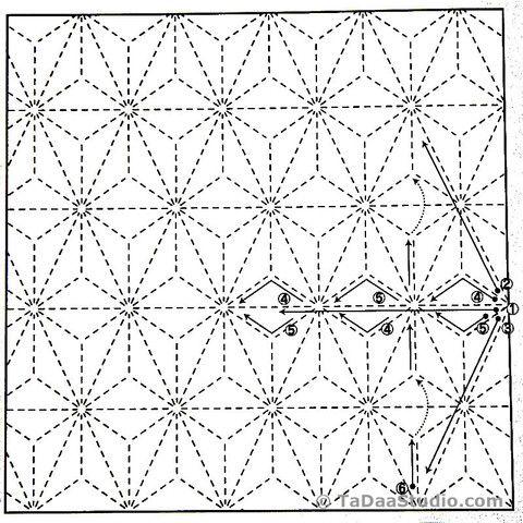 Sashiko Japanese-schemi free (4)