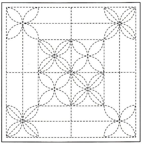 Sashiko Japanese-schemi free (9)