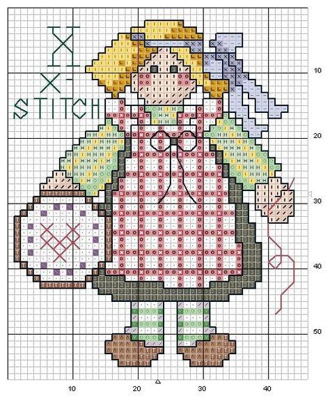 alfabeto bamboline a punto croce-schema alfabeto per bambini scarica gratis (12)