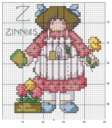 alfabeto bamboline a punto croce-schema alfabeto per bambini scarica gratis (13)