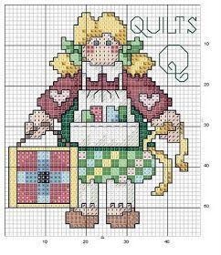 alfabeto bamboline a punto croce-schema alfabeto per bambini scarica gratis (20)