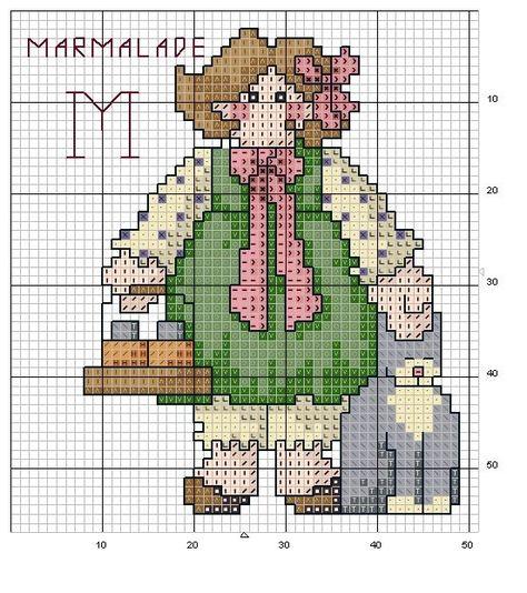 alfabeto bamboline a punto croce-schema alfabeto per bambini scarica gratis (24)