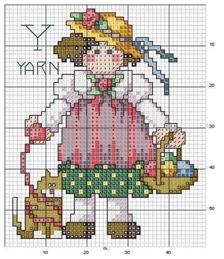 alfabeto bamboline a punto croce-schema alfabeto per bambini scarica gratis (8)