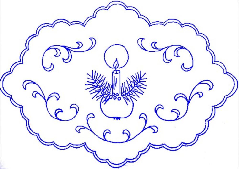 schemi per ricamo intaglio a soggetto natale (150)