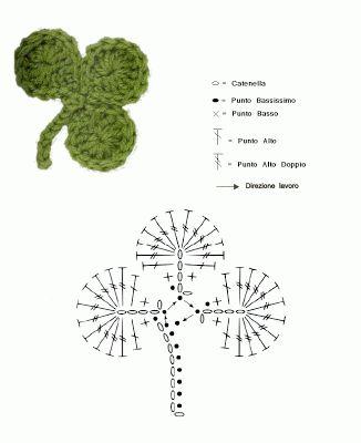 schemi uncinetto per foglie (6)