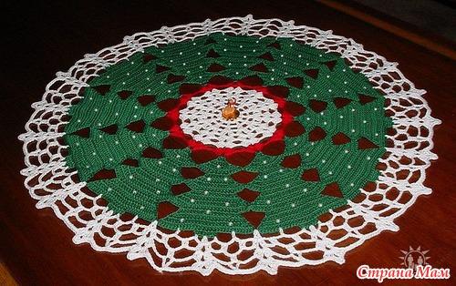 centro tavola a uncinetto-schema per centrotavola a crochet (1)