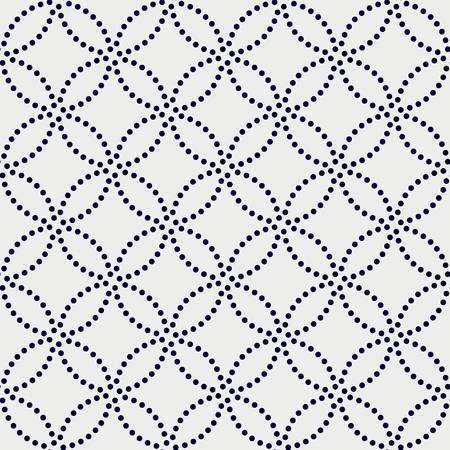 Variazione del motivo giapponese. Dot texture. Seamless pattern. sullo sfondo astratto. ornamento tradizionale asiatico.
