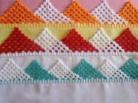 bordo semplice, facilissimo e di effetto a uncinetto crochet (1)