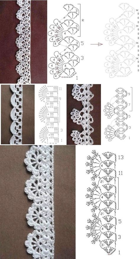 bordo semplice, facilissimo e di effetto a uncinetto crochet (3)