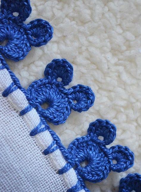 bordo semplice, facilissimo e di effetto a uncinetto crochet (4)
