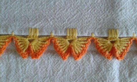 bordo semplice, facilissimo e di effetto a uncinetto crochet (9)