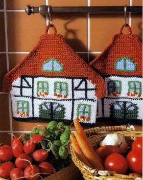 simpaticissime presine a uncinetto realizzate con gli avanzi di lana o cotone (1)