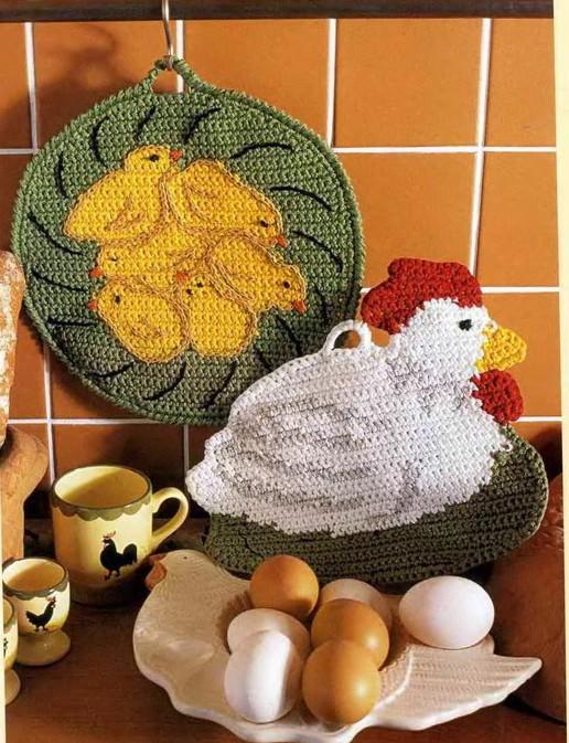simpaticissime presine a uncinetto realizzate con gli avanzi di lana o cotone (3)