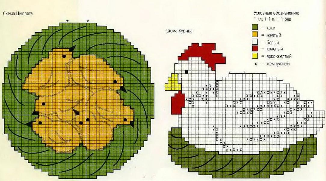 simpaticissime presine a uncinetto realizzate con gli avanzi di lana o cotone (4)