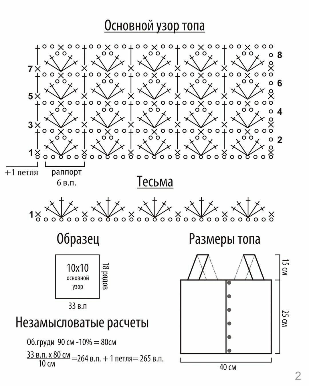 Canottierina ssensuale a uncinetto con apertura sul davanti (1)